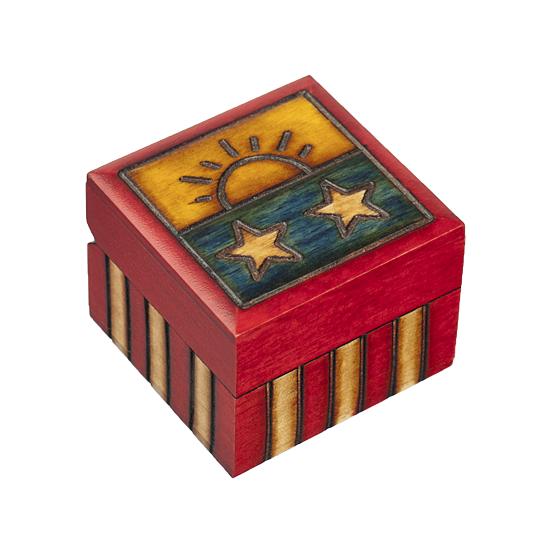 Spirit of America VIII - Polish Wooden Box