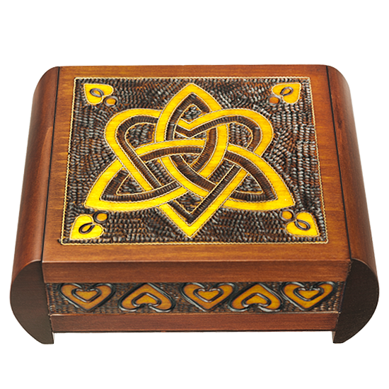 Trinity & Heart Secret - Polish Wooden Box