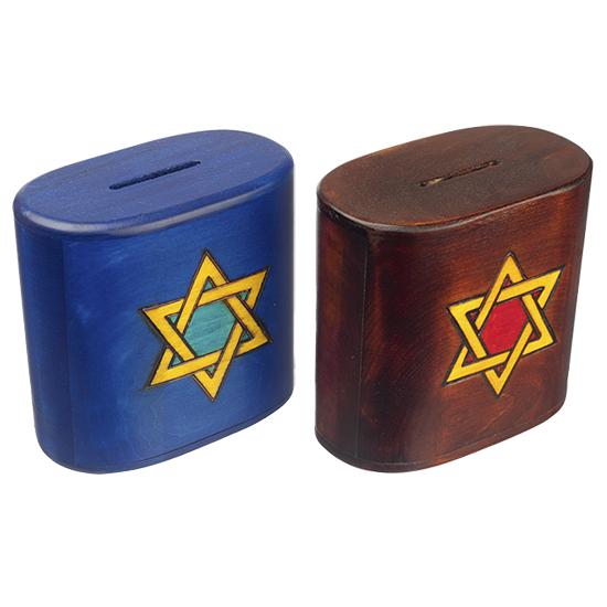 Tsedaka Small - Polish Wooden Box
