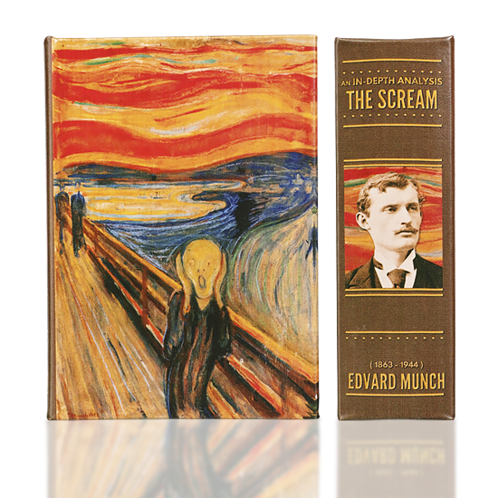 The Scream (Safe Box) - Book Box