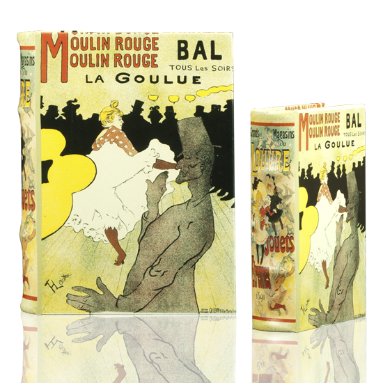 Moulin Rouge - Book Box