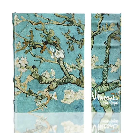Almond Blossoms (Safe Box) - Book Box