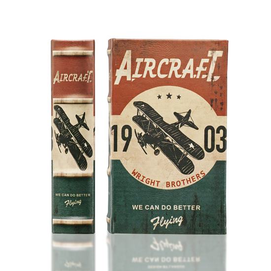 Retro Series - Aircraft - Book Box