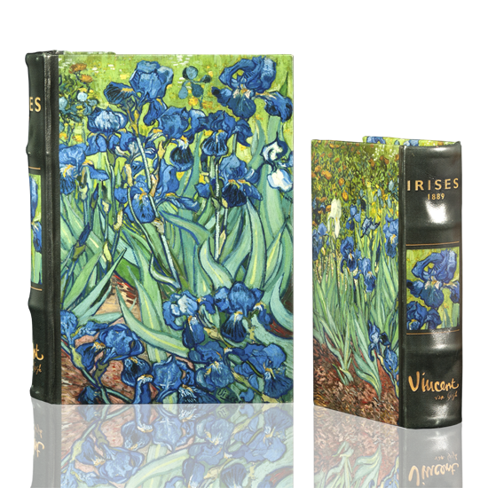 Van Gogh Irises - Book Box