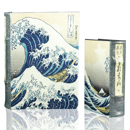 Hokusai's Great Wave - Book Box