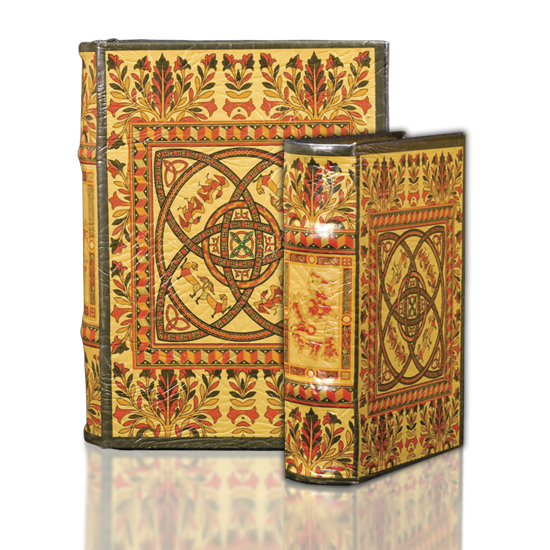 XIV c.Medieval Celtic Design - Book Box