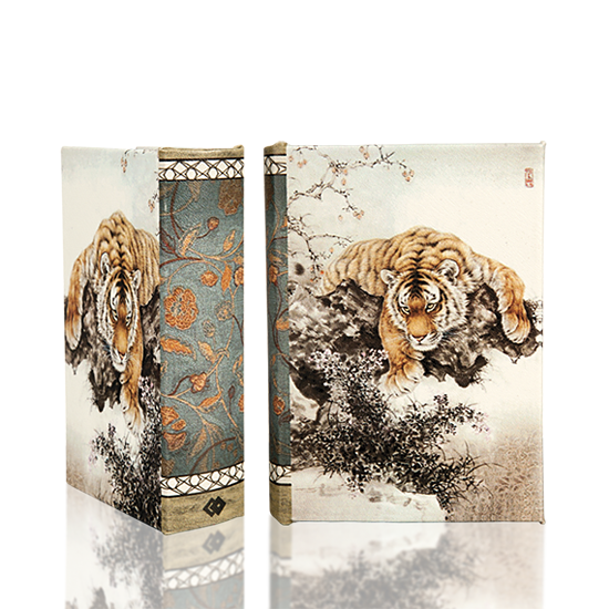 Tiger & Cherry Blossom - Book Box