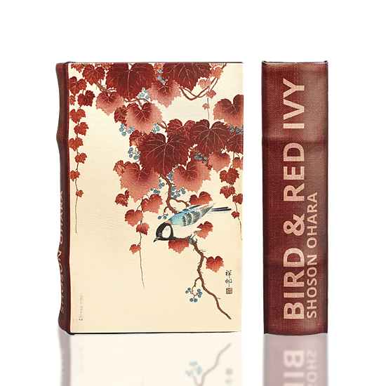 "Ohara ""Bird and Red Ivy"" - Book Box"
