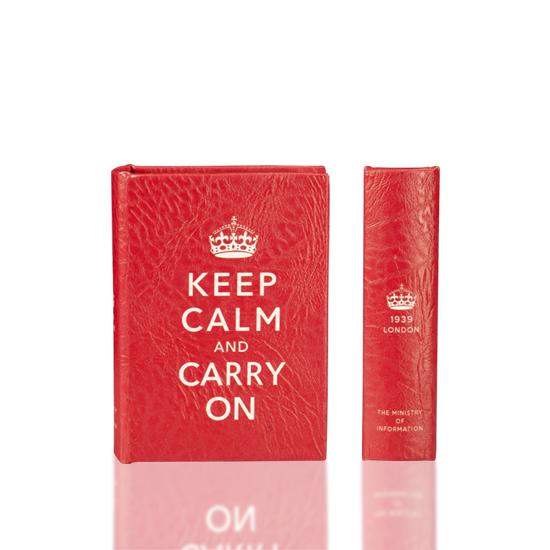 Keep Calm & Carry On - Book Box