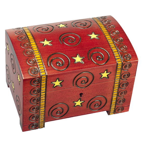 Andromeda Spiro Box - Polish Wooden Box