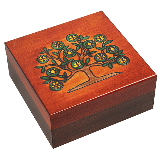 Tree of life - Polish Wooden Box