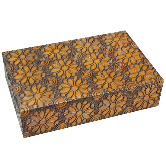 Flower Power - Polish Wooden Box