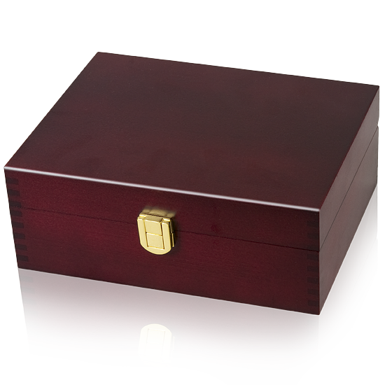 Large Memory Pet Urn - Brass Lock