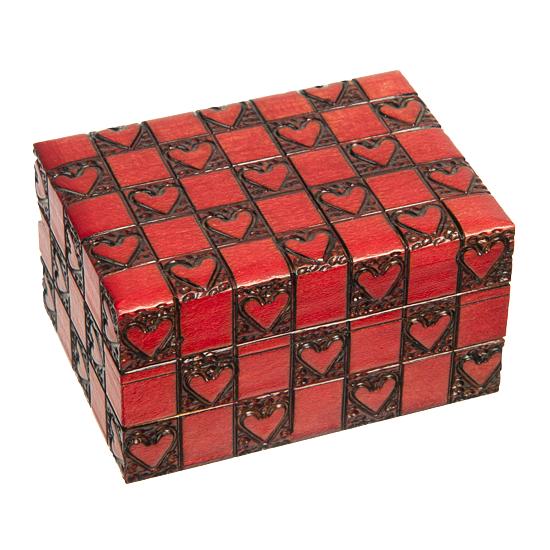 Puppy Love - Polish Wooden Box