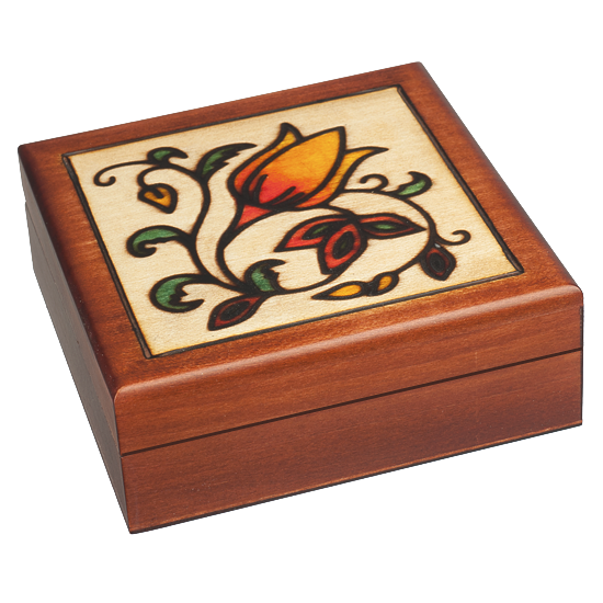 Romantic Box - Polish Wooden Box