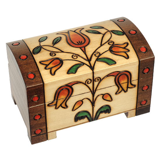 Romantic Trunk - Polish Wooden Box