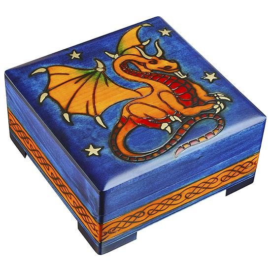 The Magic Dragon - Polish Wooden Box
