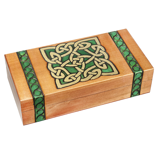 Celtic Design - Polish Wooden Box