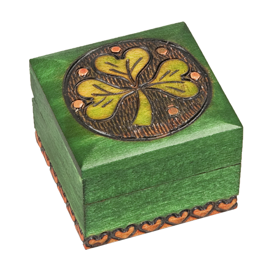 Celtic Small - Polish Wooden Box