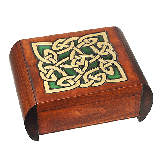 Celtic Dream- Secret Box - Polish Wooden Box