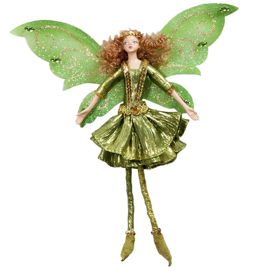 Bronze Fairy - Enchanted Fairy Doll