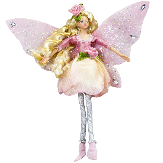 Blossom Fairy - Enchanted Fairy Doll
