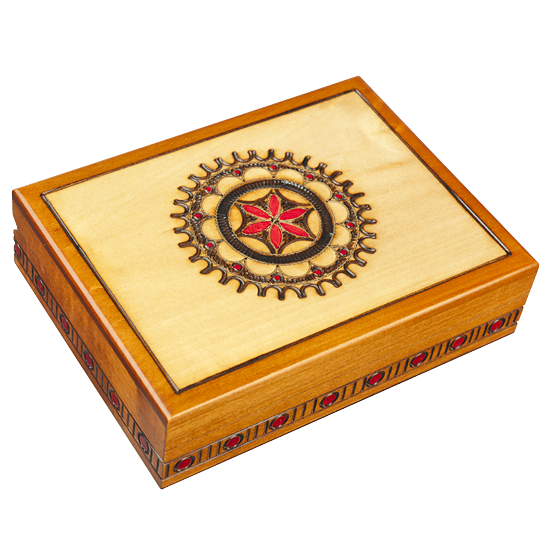 Circulinity - Polish Wooden Box