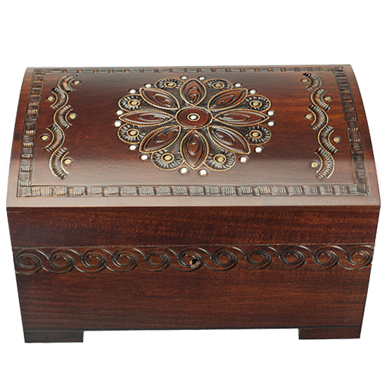 Grandma's Beauty - Polish Wooden Box