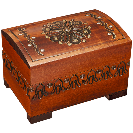 Assorted Forest Goodies - Polish Wooden Box