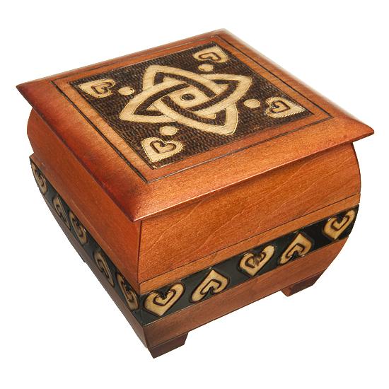 Celtic Knot - Polish Wooden Box