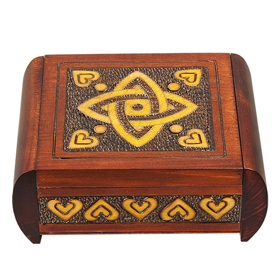 Celtic Knot Classic - Polish Wooden Box