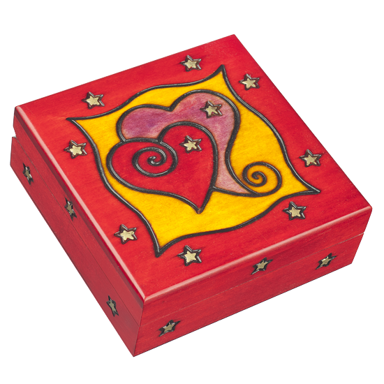 In Love: Here & Now - Polish Wooden Box