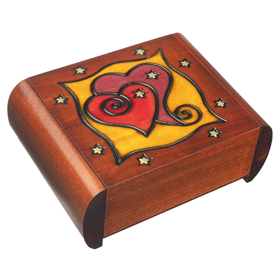 Secret Heart - Polish Wooden Box