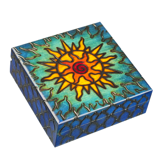 Solar Wind - Polish Wooden Box