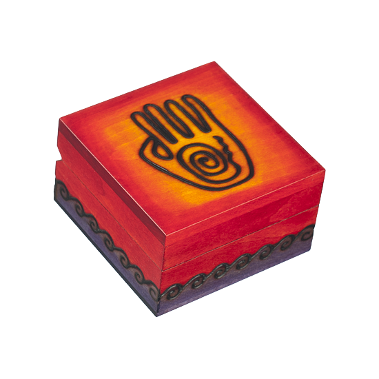 Spiro Hand Small - Polish Wooden Box