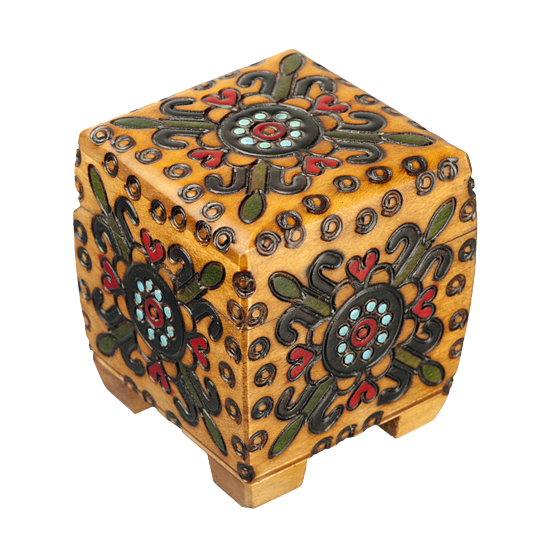 Traditional Small Chest - Polish Wooden Box