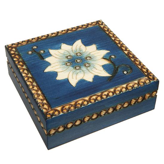 Chakra Tierra - Polish Wooden Box