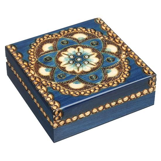 Chakra Luna - Polish Wooden Box