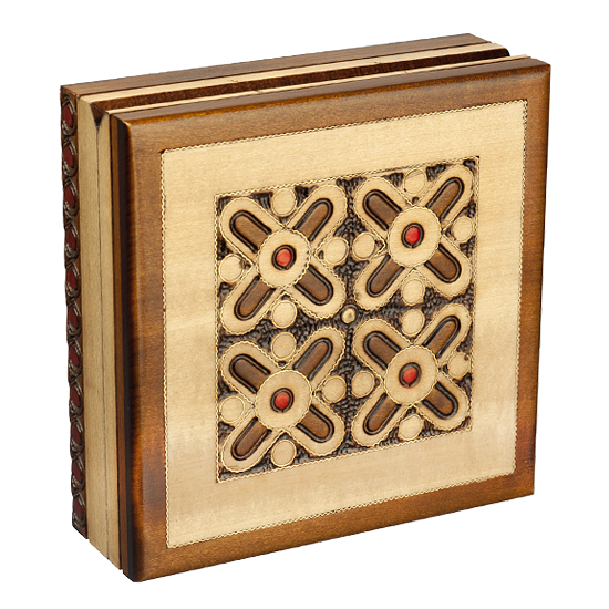 Tic-Tac-Toe - Polish Wooden Box