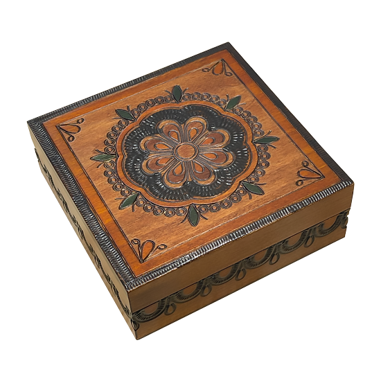 Dreamcatcher - Polish Wooden Box