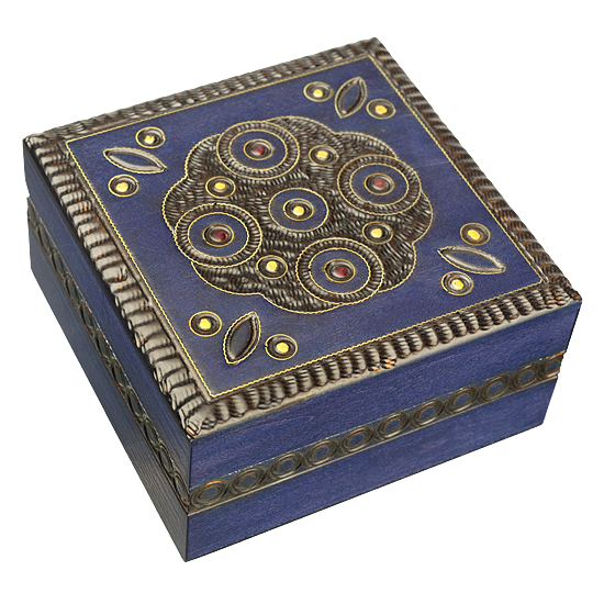 Tall Deco Box - Polish Wooden Box