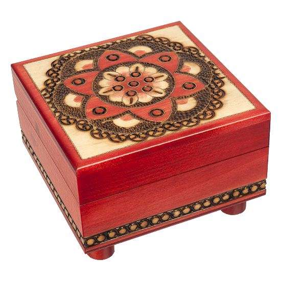 Chakra - Secret Legs - Polish Wooden Box