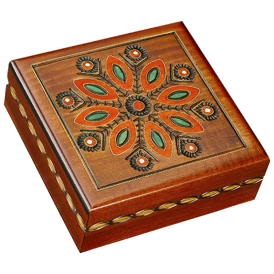 Late Bloom - Polish Wooden Box