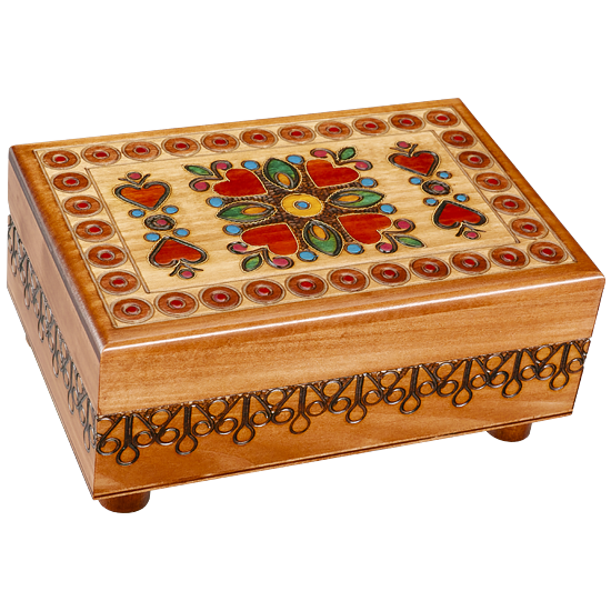 Surrounded by Love - Polish Wooden Box
