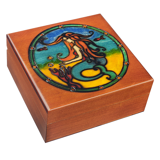Siren - Polish Wooden Box