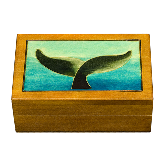 Whale's Tail - Polish Wooden Box