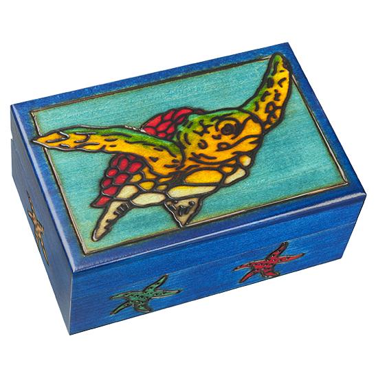 Turtle - Polish Wooden Box