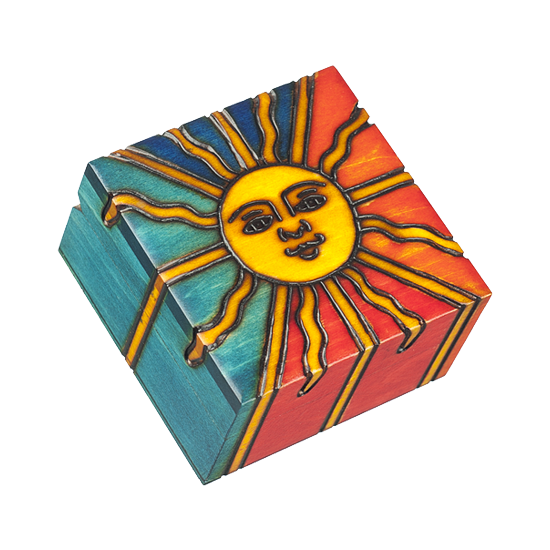 Helios-the Daytime Star - Polish Wooden Box