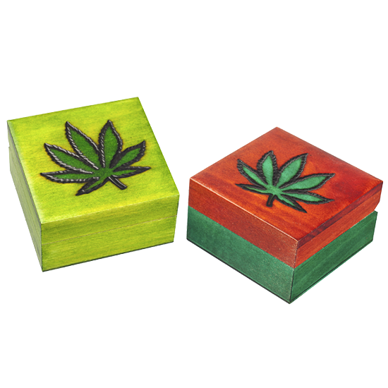 Marijuana - Polish Wooden Box