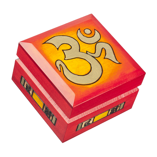 OM - Polish Wooden Box